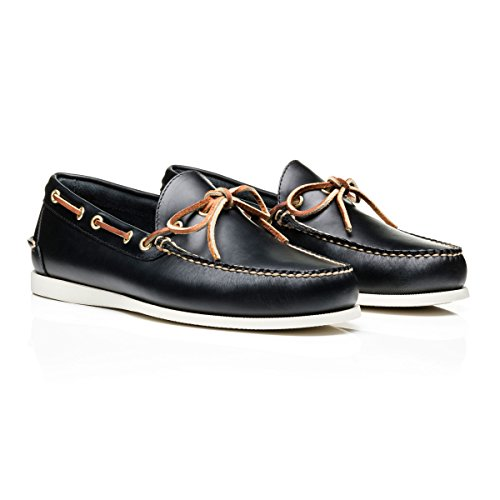 Moc Camp Decker Navy Pull Up Leather fxFzUwgvq