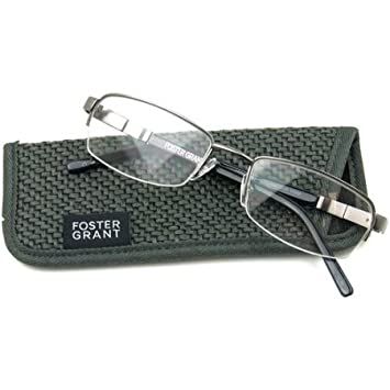 a56931c313 Image Unavailable. Image not available for. Color  Foster Grant Carlos GUN Men s  Reading Glasses ...