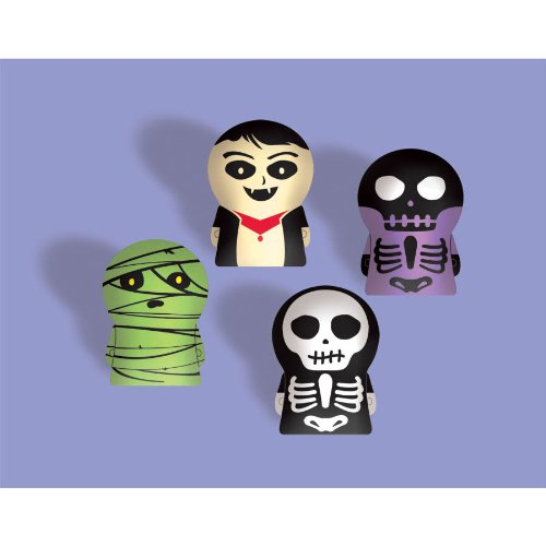 Skeleton Finger Puppet 12ct ()