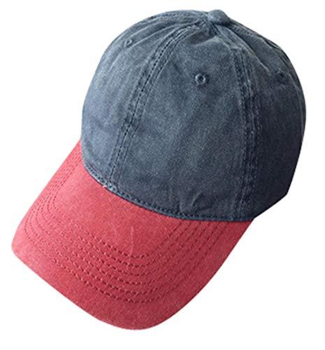 Pausseo Baseball Hat, Fashion Adjustable Cotton Vintage Cap Star Rhinestone Cap for Men Women ()