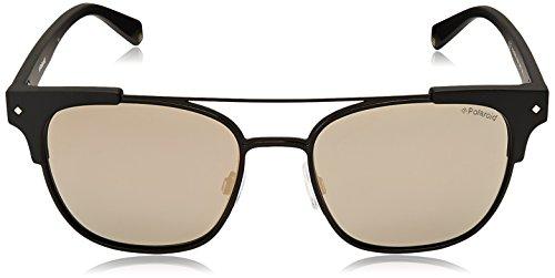 003 Mat carrées mat Polaroid polarisé Noir X PLD combo noir S de lunettes métal soleil 6039 54 taq0Owa