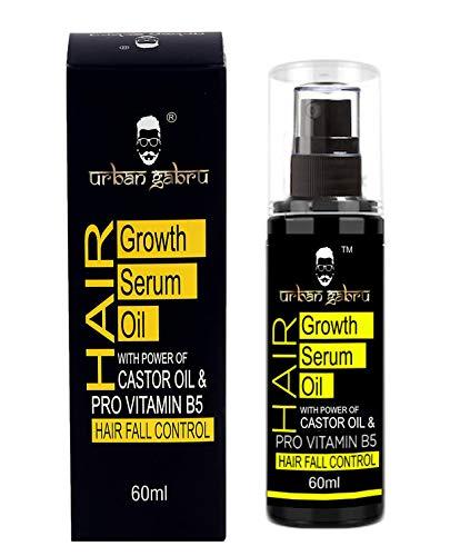 Urbangabru Hair Growth Serum Oil With Castor Oil Hair Fall Control Oil For Unisex product image