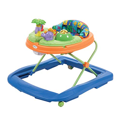 Safety 1st Dino Sounds 'n Lights Discovery Baby Walker with Activity ()
