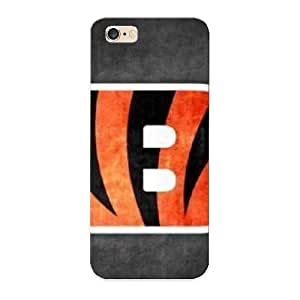 Hard Plastic Iphone 6 Plus Case Back Cover, Hot Cincinatti Bengals Grungy Case For Christmas's Perfect Gift