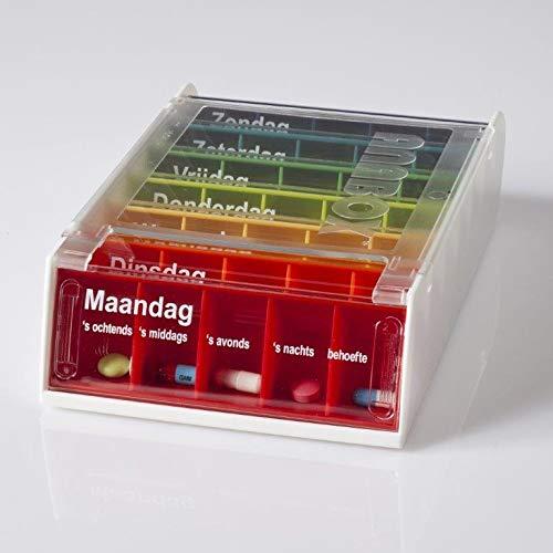 Anabox AL70010 Weekly Medication Box Dutch Design by Anabox