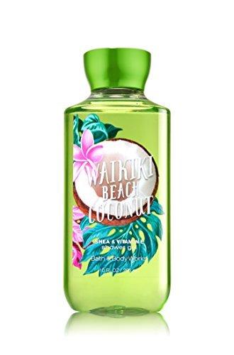 Bath & Body Works Shea & Vitamin E Shower Gel Waikiki Beach Coconut - Waikiki Shops
