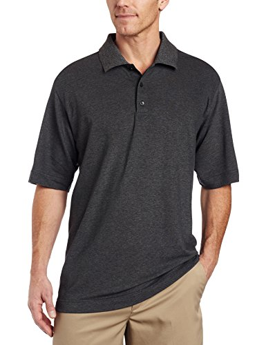 Cutter & Buck Men's CB Drytec Championship Polo, Charcoal, ()