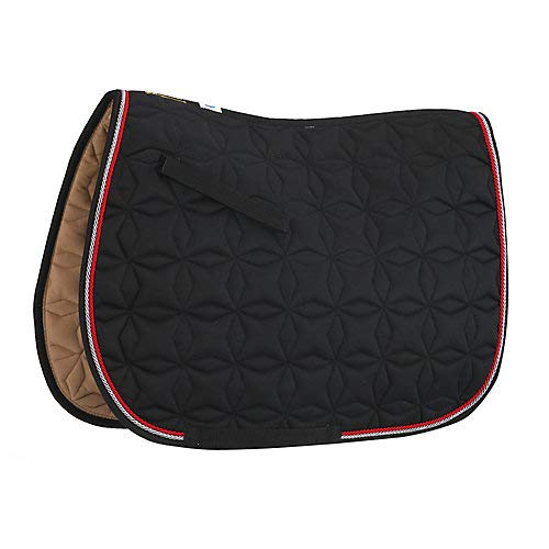 Roma Ecole Star Quilt CC Pad Black/Slate/Red