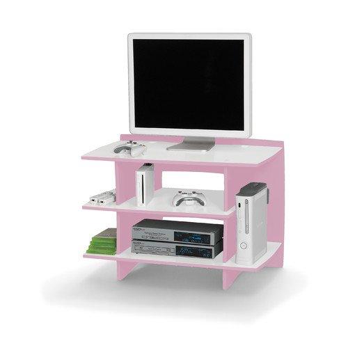 Legare Furniture Princess Kids 33' Gaming Center or Tv Stand (Pink)
