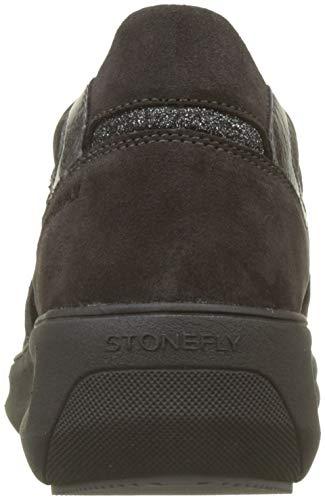 Magnet Oxford Grigio Gray 08w Scarpe Rock Stonefly Stringate Donna Velour 1 zPWqZPwvX8