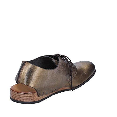 MOMA , Damen Schnürhalbschuhe braun bronze
