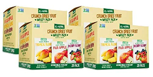 Sensible Foods Crunch Dried Fruit, 20 Count (4 Boxes) by Sensible (Image #6)