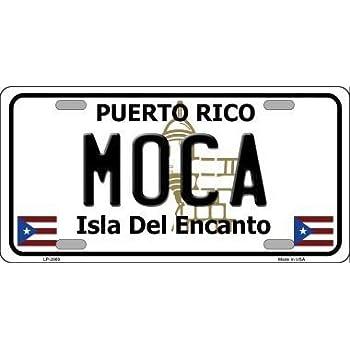 Arroyo Puerto Rico Metal Novelty License Plate