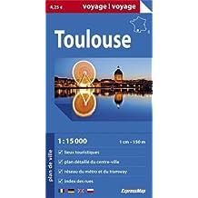 TOULOUSE  1/15.000 (PAPIER-GD FORMAT)