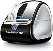 DYMO Label Printer | LabelWriter 450 Direct Thermal Label Printer, Great for Labeling, Filing, Mailing, Barcodes and More, H