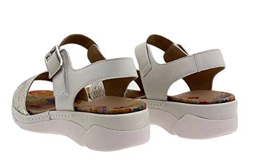 Sandales Confortables Amples 1501 Hielo Confort Chaussure En Femme Cuir Piesanto À Amovible Semelle wnTq1YZn