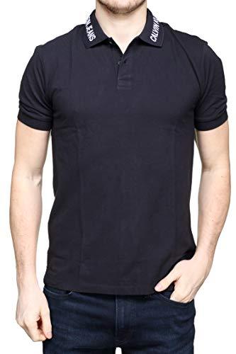 Klein Embro J30j311183 099 Calvin Collar Noir Polo SU1vxqq