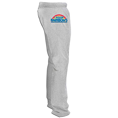 Tony Romo Costume Funny (Texhood MEN'S Rainbow I Poop Rainbows Basketball Sport Shorts Size)