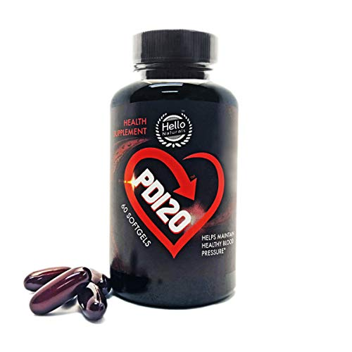 Best Natural Blood Pressure Supplements – ★IMPROVED FORMULA★ PD120 (NON-GMO) CoQ10 300mg High Absorption - Natural Vitamins. Blood Pressure Formula for Men & Women Over 40 ★100% MONEY BACK GUARANTEE!★