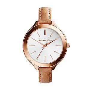 Michael Kors Women's MK2284 Runway Brown Watch