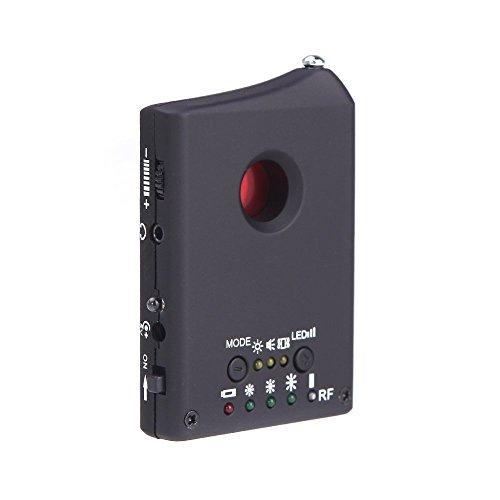 TOOGOO(R) Anti Spy Detector LDRF-DT1 Hidden Camera GSM Audio Bug Finder GPS Signal Lens RF Tracker