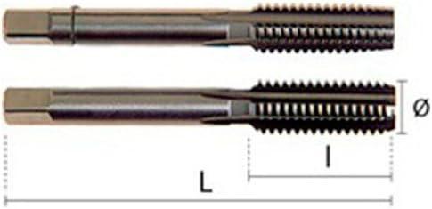 /øm22.00/X 1.50/Mm L 80/mm /m/ännlich Gewindeschneiden HEPYC 23010022015/ A 14,50/din252//2181 L 22/mm HSS