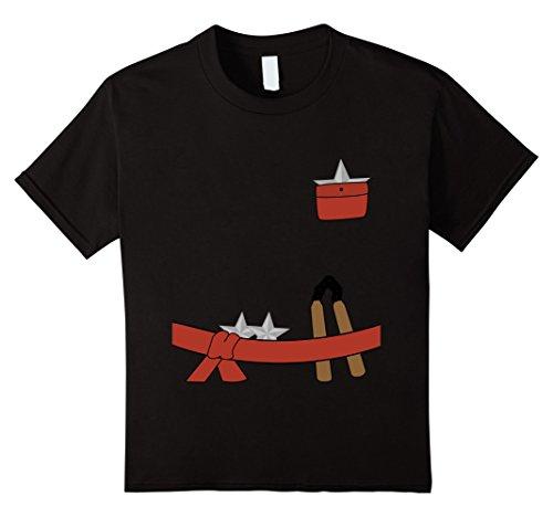 Kids Kids Cute Ninja Halloween Costume T-Shirt 8 -