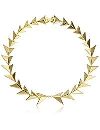 "Noir Jewelry Boudica Choker Necklace, 13"""