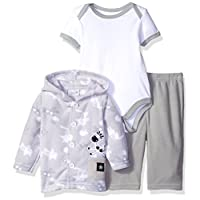 Rene Rofe Baby Baby 3 Piece Microfleece Jacket Set with Pant and Lap Shoulder...