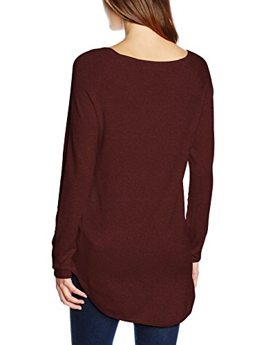 Melange Only Gris Femme Chocolate Pull w Detail Truffle qqS7pw8