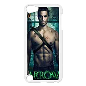 C-EUR Customized Print Green Arrow Pattern Hard Case for iPod Touch 5