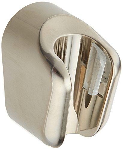 Hansgrohe 28321823 Porter E Hand Shower Holder, Brushed Nickel (Hansgrohe Nickel Holder)