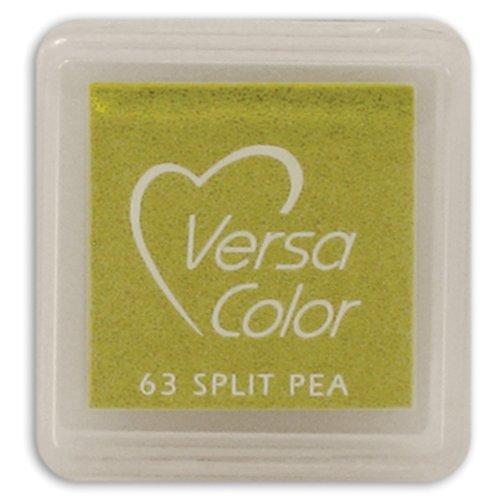 Tsukineko Small-Size VersaColor Ultimate Pigment Inkpad, Split Pea (Versacolor Ink Cube)