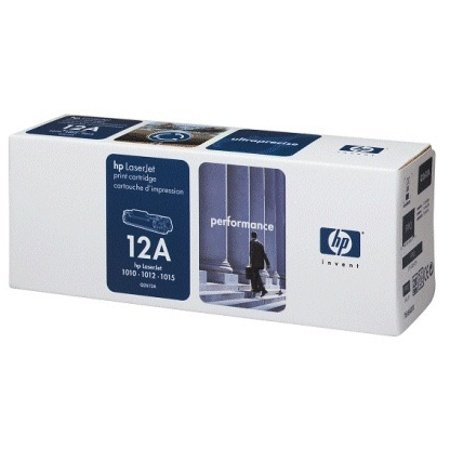 10 Pack - HP Genuine Q2612A HP 12A Laser Toner Cartridge, 2,000 Pages (Black) - 10 Pack