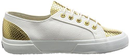 Sneaker Unisex Basse Gold 2750 Adulto Superga White Mehrfarbig Cotleasnakeu 1xaqBEwz