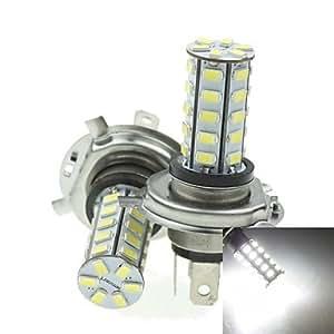 GD h4 20w 36x5730smd 800-1200lm 6000-6500K luz blanca llevó el bulbo de lámpara de la niebla del coche (un par / ac12-16v)