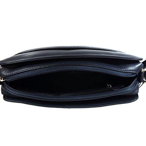 Shoulder Bag Blue Medium Conti Conti Medium Gianni Gianni Style 2554541 HB6x4T