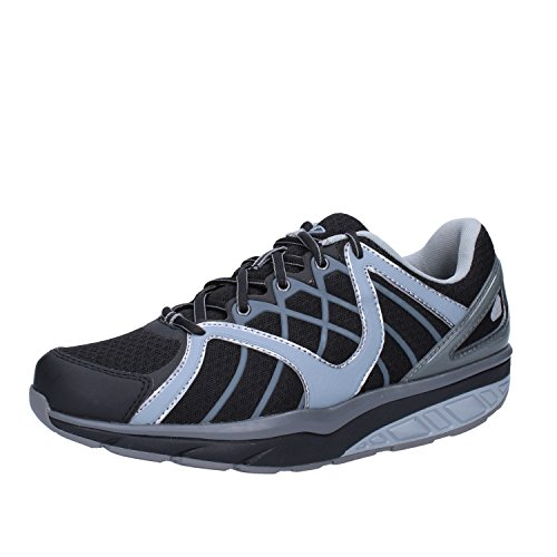 MBT Sneakers Mujer 37 EU Negro Gris Textil