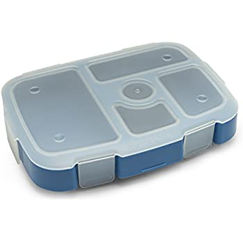 Bentgo Kids Tray with Transparent Cover (Blue)
