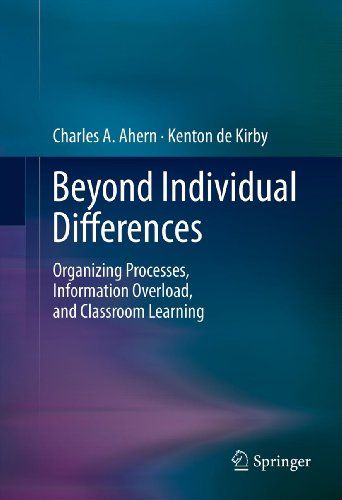 Download Beyond Individual Differences: Organizing Processes, Information Overload, and Classroom Learning Pdf