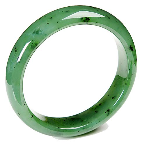 MPH-jewelry Genuine Natural Nephrite Hetian Jade Bangle Green 59mm