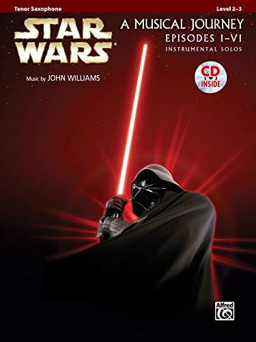 Star Wars Instrumental Solos (Movies I-VI): Tenor Sax, Book & CD (Pop Instrumental Solos Series)