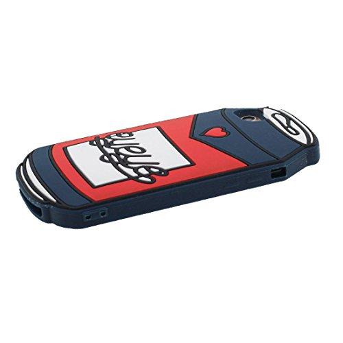 """iPhone 7 Coque (4.7""""), [ TPU Material Flexible 3D canette ] élégant Étui pour iPhone 7 (4.7""""), Dust Slip Scratch Resistant, Case souple & Bouchon anti-poussière"""