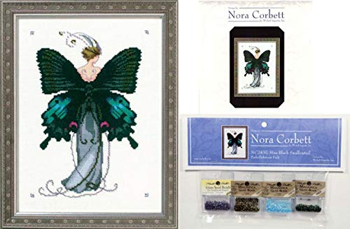 Mirabilia Cross Stitch Chart & Embellishment Pack ~ Miss Bla