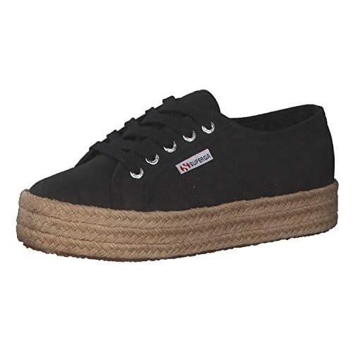 chollos oferta descuentos barato Superga 2730 cotropew Zapatillas de Gimnasia Mujer Negro Black 999 41 5 EU