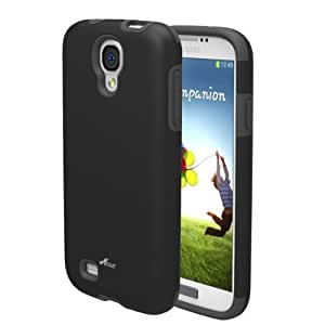 Acase Samsung Galaxy S4 case - Superleggera PRO Dual Layer Protection case for AT&T, Sprint, T-Mobile and Verizon Galaxy S IV Galaxy SIV i9500 (Black/Grey)