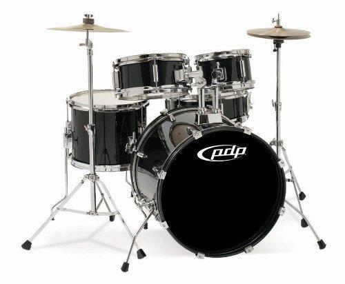 - Pacific Drums PDJR18KTCB PDP Junior 5-Piece Drum Set