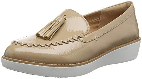 Mujer Mocasines Paige Marrón 076 Moccasin Taupe Fitflop para I1awHfyBq