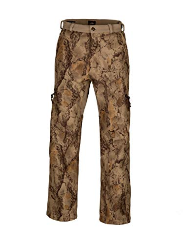 Natural Gear Winter-Ceptor Fleece Hunting Pants for Men, Lightweight 6-Pocket Camo Hunting Pants, Made with Double-Laminated, Water-Resistant Fleece