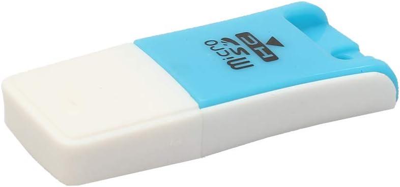BLagenertJ USB 2.0 Mini Micro SD TF Card Reader M2 ABS T-Flash Memory Adapter High Speed Blue
